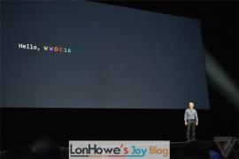 苹果iOS10、macOS四大系统亮相WWDC,这次真没硬件发布