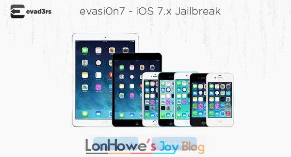evasi0n7 1.0.7,iOS7.0.6完美越狱工具体验-LonHowe Blog