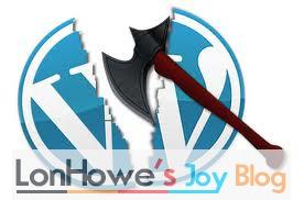 WordPress 真的飞不起来-LonHowe Blog