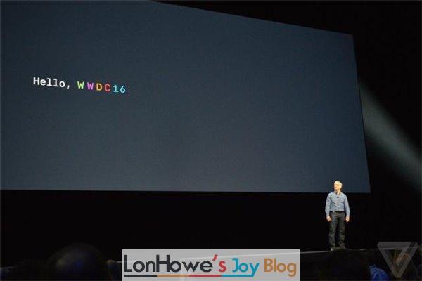 苹果iOS10、macOS四大系统亮相WWDC,这次真没硬件发布-LonHowe Blog